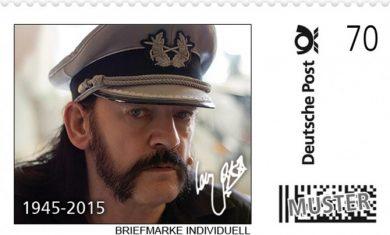 motorhead - francobollo lemmy - 2016