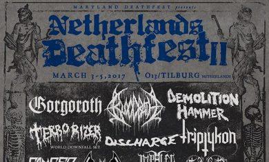 netherlands deathfest 2017 - locandina 2