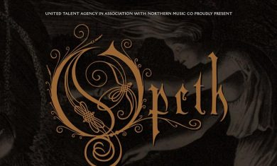 opeth - locandina tour europeo 2016