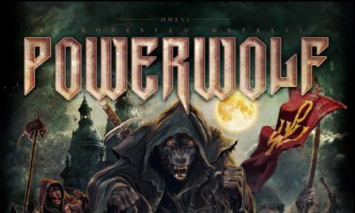 powerwolf - THE METAL MASS LIVE DVD  - 2016