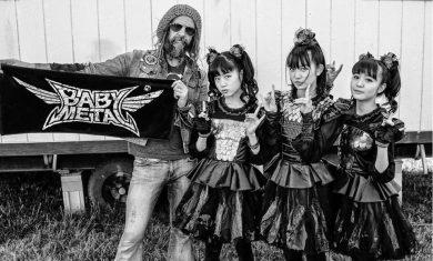 rob zombie - babymetal - 2016