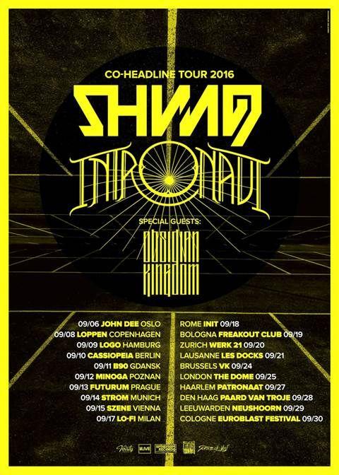 shining - tour 2016