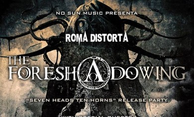 the foreshadowing-release party-roma 2016