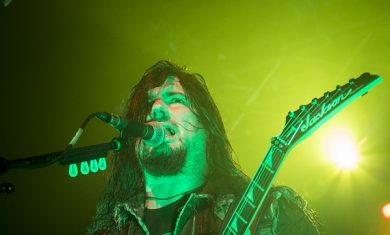Trivium - Corey Beaulieu - Live trezzo 2014
