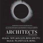 Architects - locandina - 2016