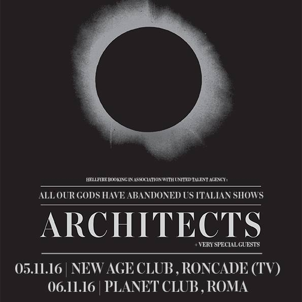 Architects - locandina - 2016