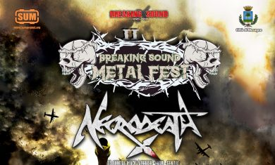 BREAKING SOUND Metal Fest - locandina - 2016