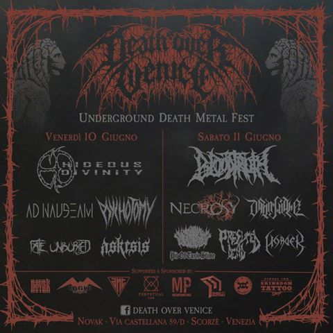 Death Over Venice - flyer - 2016