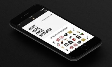 Heavy Metal emoji keyboard - 2016