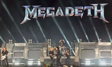 MEGADETH con Nikki Sixx al Download - 2016