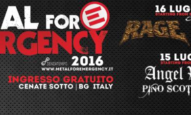 METAL fOR EMERGENCY - 2016