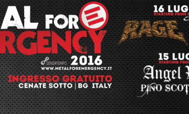 METAL fOR EMERGENCY - 2016