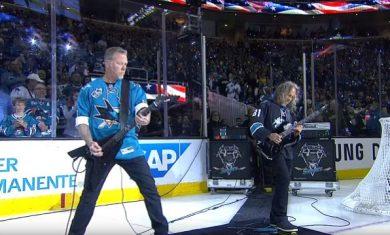 Metallica - Stanley Cup - 2016