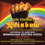 Rainbow - Birmingham - 2016