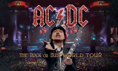 Rock Or Bust World Tour - poster - 2016