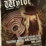 Zakk Wylde - Teatro degli Arcimboldi - Milano 2016