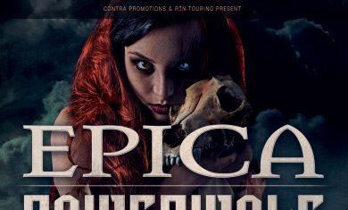 epica powerwolf - live club trezzo milano - 2017