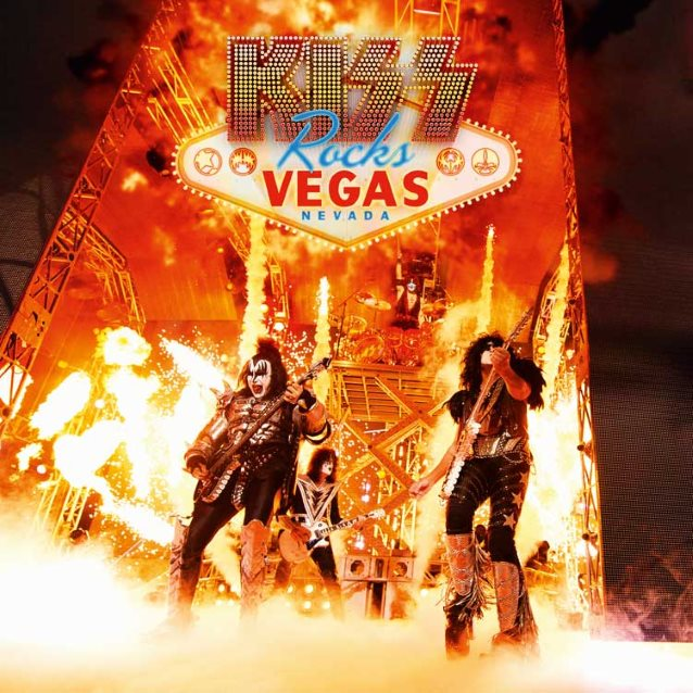 kiss - kiss rocks vegas dvd - 2016