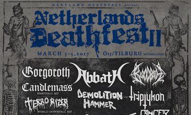 netherlands deathfest 2017 - locandina 3
