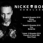 nicke borg - tour - 2016