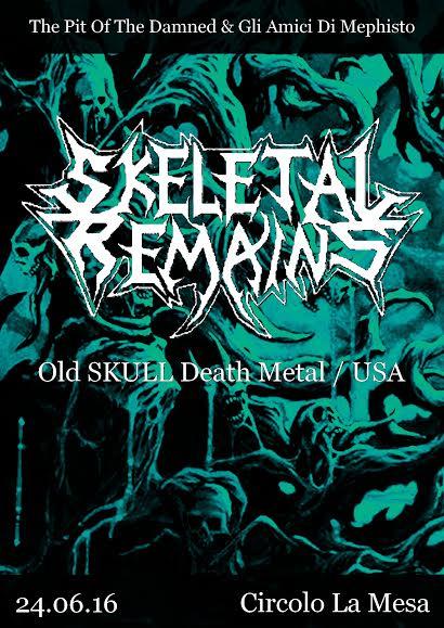 skeletal remains circolo la mesa 2016