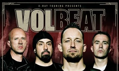 volbeat - tour europeo 2016