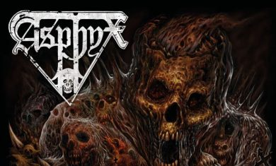 ASPHYX - Incoming Death - album - 2016
