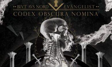 Blut Aus Nord Aevangelist - Codex obscura nomina cover - 2016
