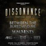 Dissonance Fest - locandina - 2016
