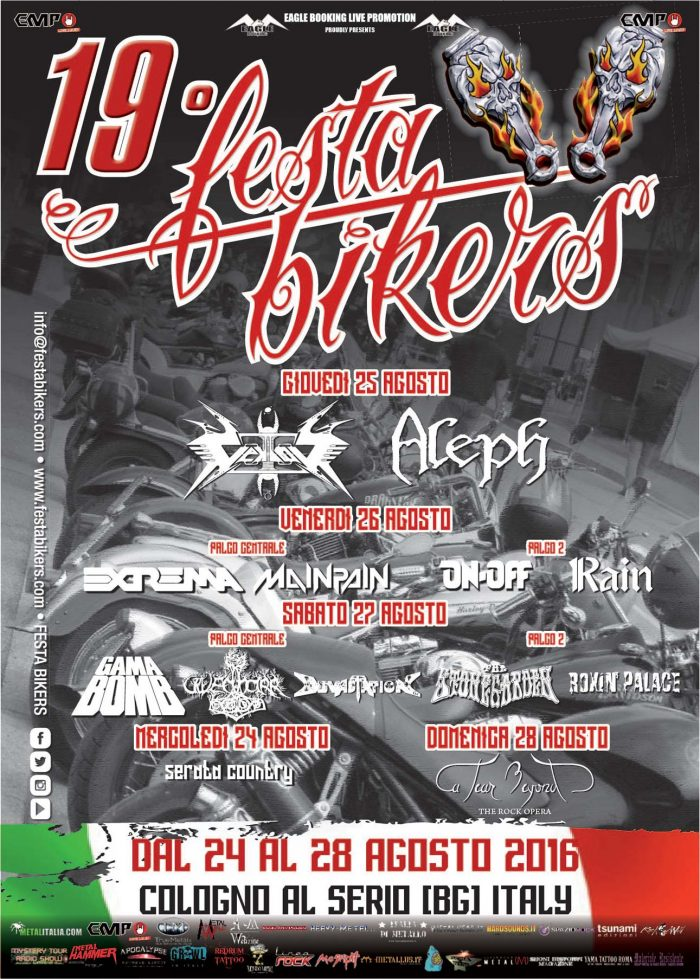 Festa Bikers 2016 - locandina