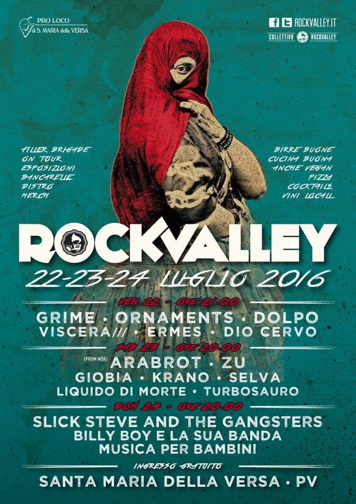 Rock Valley - flyer 2016 - 2016