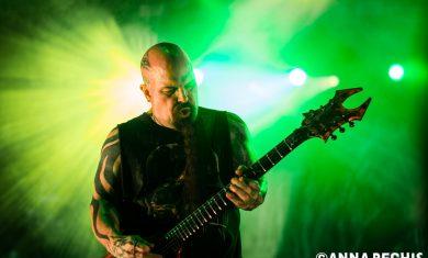 Artista: Slayer | Fotografo: Anna Bechis | Data: 11 luglio 2016 | Venue: Arena Alpe Adria | Città: Lignano Sabbiadoro (UD)