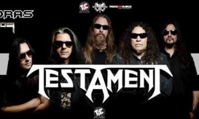 Testament - milano - 2016