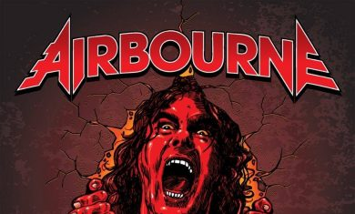 airbourne - breakin outta hell - 2016