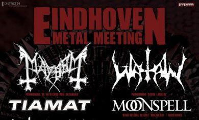 eindhoven metal meeting 2016 - locandina luglio