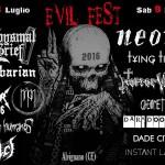 evil fest 2016
