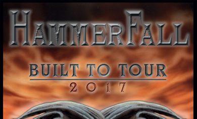 hammerfall - live trezzo - 2017
