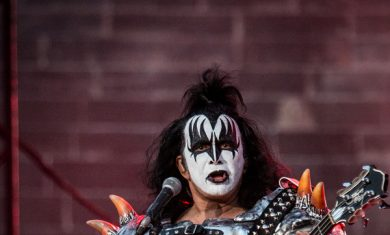 Gene Simmons of Kiss performs live at Arena di Verona - 2015