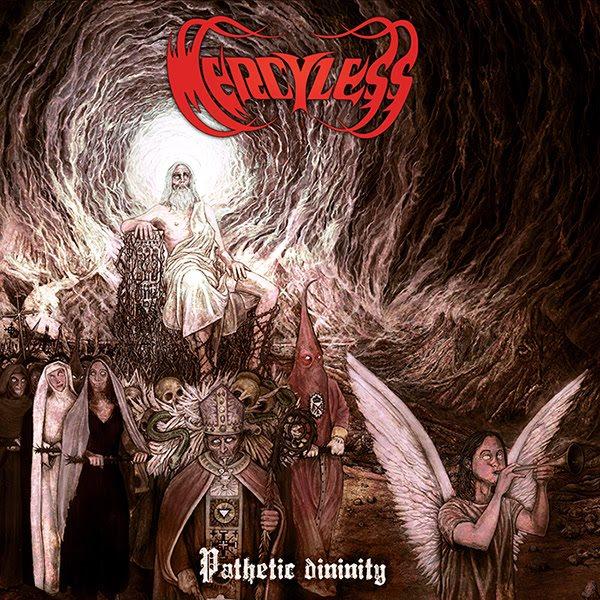 mercyless - pathetic divinity - album - 2016