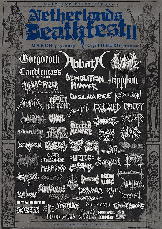 Repulsion Band NETHERLANDS DEATHFEST ...