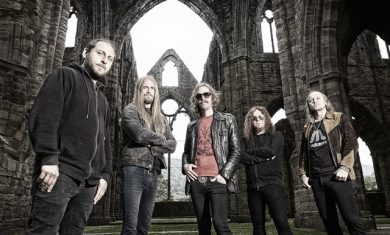 opeth - band - 2016