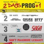 2days Prog+1 Fest - locandina - 2016
