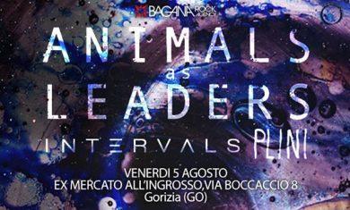 Animals As Leaders - locandina evento Gorizia - 2016