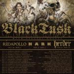 BLACK TUSK - tour europa - 2016