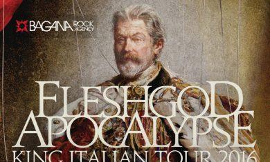 FLESHGOD APOCALYPSE  -KING ITALIAN TOUR - 2016