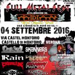 Full Metal Fest - locandina - 2016