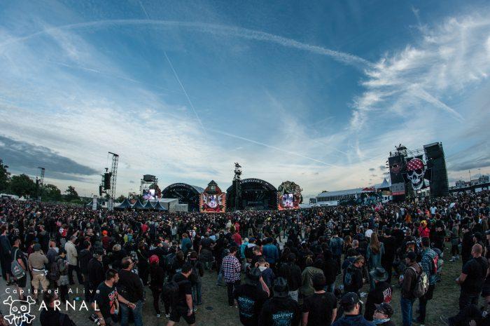 Hellfest 2016 - panoramica area concerti giorno - 2016