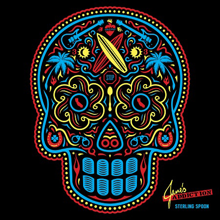 JANE'S ADDICTION - Sterling Spoon - 2016