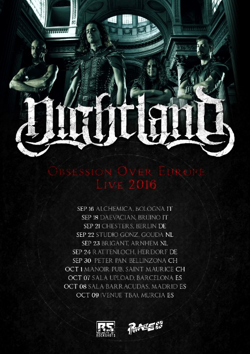 NIGHTLAND - Obsession Over Europe Tour - 2016