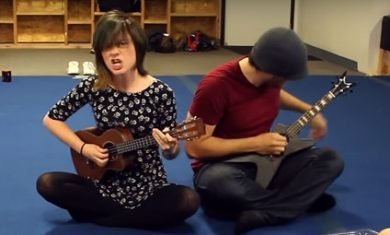 Rob Scallon - Sarah Longfield - ukulele - 2016